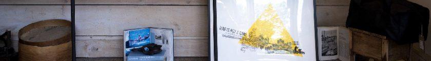Encadrement d'art - Mur de cadres - Néoldie